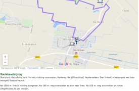 Wandelen Vegelinbossen Sint Nicolaasga, Friesland