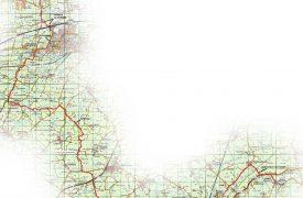 Routekaart Wandelen De Slachte, Slachtedyk
