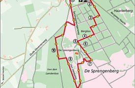 Wandelen Sprengenberg, Sallandse Heuvelrug