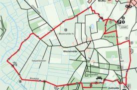 Kaart wandeling Norg